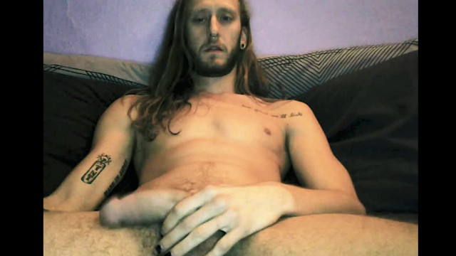 Long Haired Dude Films Himself